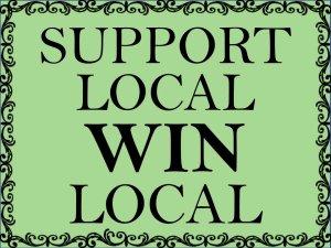 Support Local Win Local 3