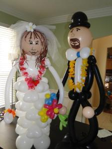 1 creative bride & groom